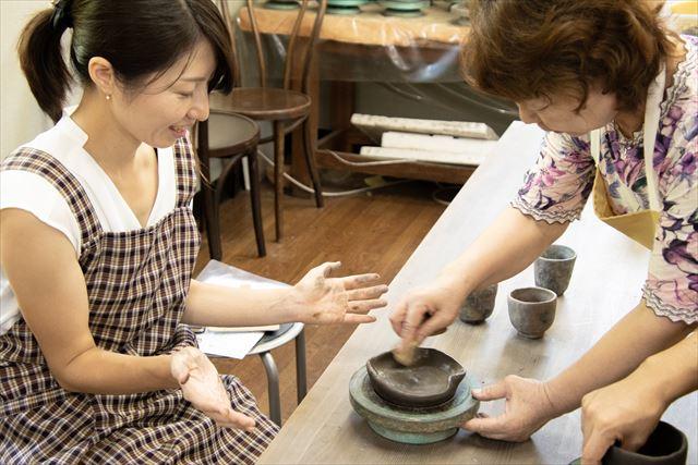 岡山県の特色「備前焼」の体験